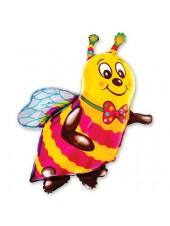 """Фольгированный шар с гелием """"Пчела"""" 102 см"""