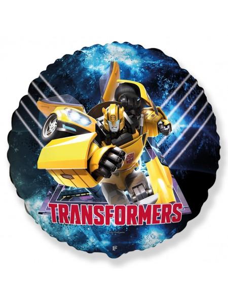 """Фольгированный шар """"Трансформер Бамблби"""" Bambl Bee  46 см."""