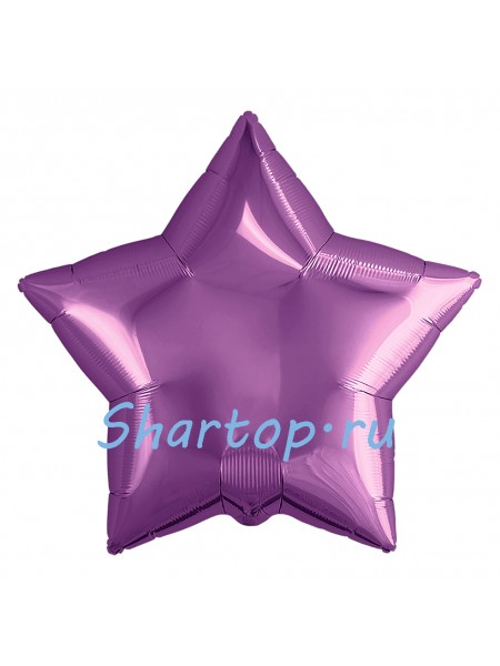 """Фольгированный шар звезда """"Фиолетовая"""" 46 см"""