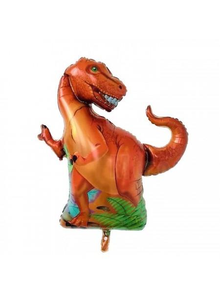 """Фольгированный шар с гелием """"Динозавр"""" 91 см."""