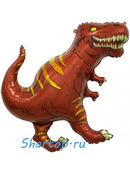 Шар Фигура Динозавр (Тираннозавр) 91 см Коричневый