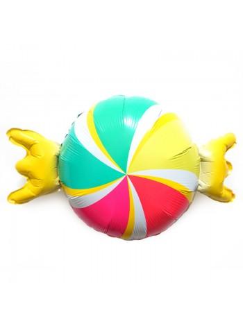 """Фольгированный шар с гелием """"Конфета"""" 69 см"""