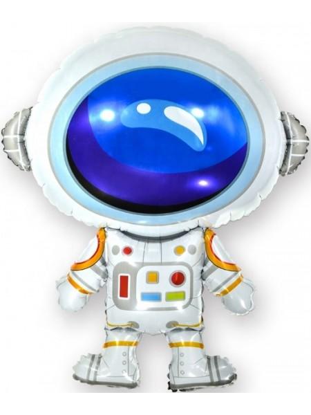 """Фольгированный шар с гелием """"Космонавт"""" 86 см"""