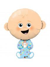 """Фольгированный шар """"Малыш мальчик"""" 96 см. Anagram (США)"""
