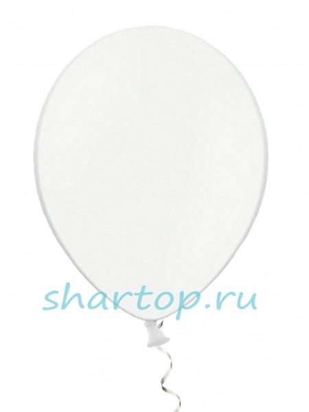 "Шары однотонные ""БЕЛЫЙ"" 25 см"