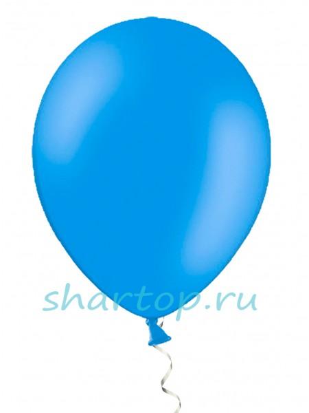 """Шары однотонные """"СИНИЙ"""" 25 см"""