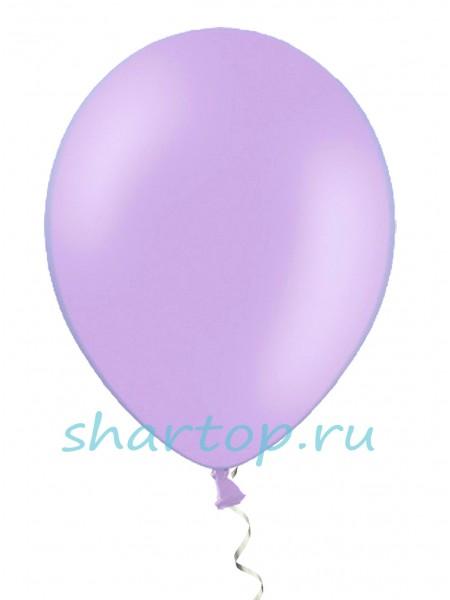 """Шары однотонные «СИРЕНЕВЫЙ"""" 25 см"""