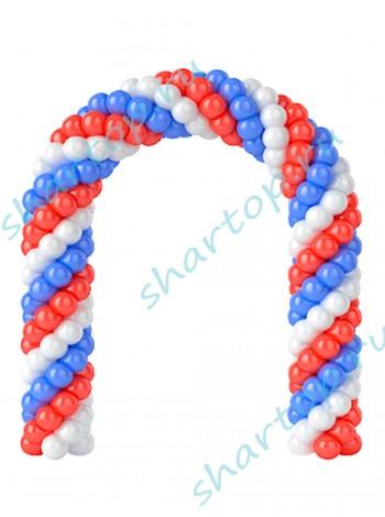 Арка из шаров металлик (цвета на Ваш выбор)