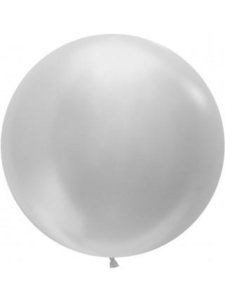Шар Большой Серебро 61 см