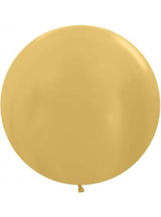 Шар Большой Золото 61 см