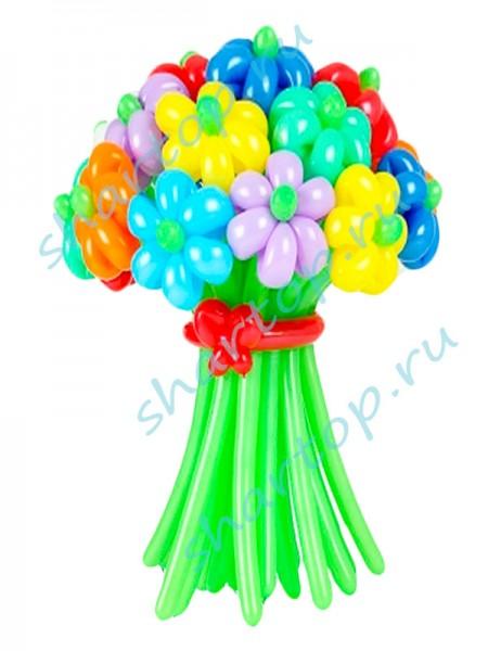 """Цветы из шаров """"Ассорти"""" 2"""