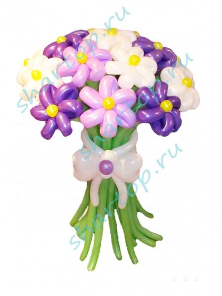 """Цветы из шаров """"Сирень"""""""