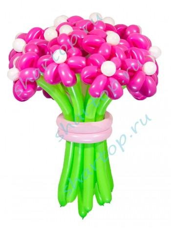 """Цветы из шаров """"Фуше"""""""