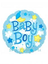 """Фольгированный шар """"Baby Boy"""""""
