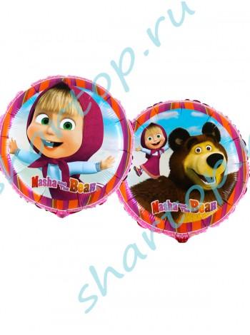 """Фольгированный шар  """"Маша и Медведь"""""""