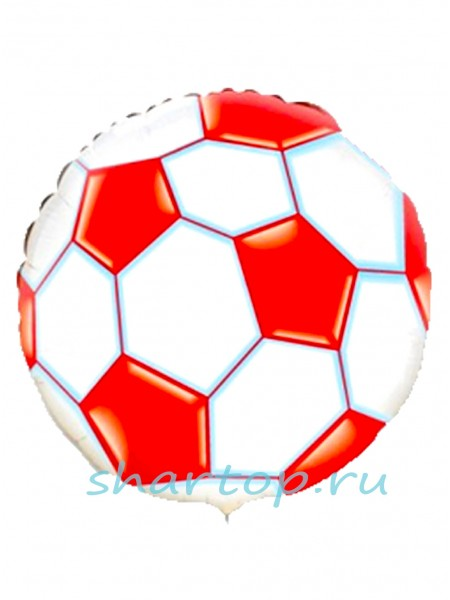 """Фольгированный шар  """"Мяч Красный"""""""