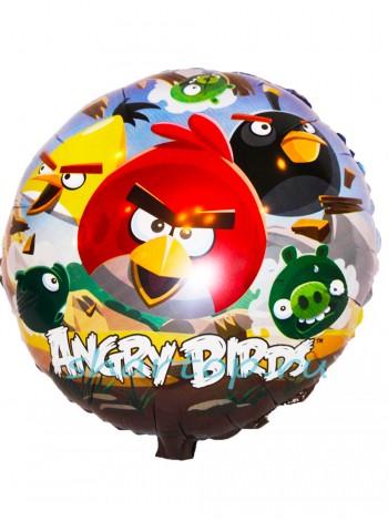 """Фольгированный шар """"Angry Birds"""" / Злые птицы"""