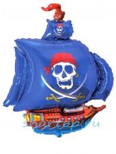 """Фольгированный шар """"Корабль Пиратов"""" 104 см"""