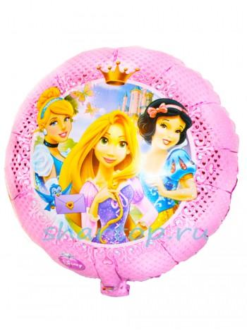 """Фольгированный шар  """"Принцессы Розовый"""""""