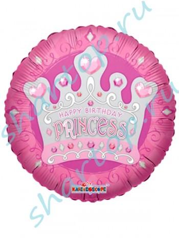 """Фольгированный шар  """"Корона Принцессы"""""""