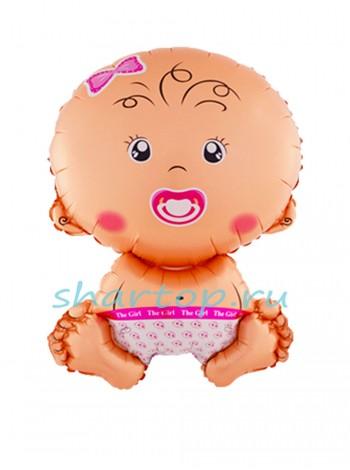 """Фольгированный шар """"Малышка"""" 71 см"""