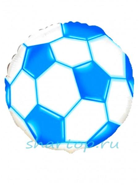 """Фольгированный шар  """"Мяч Синий"""""""