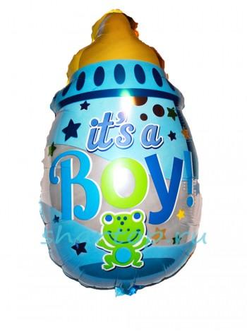 """Фольгированный шар """"Бутылочка для Малыша"""" 65 см"""