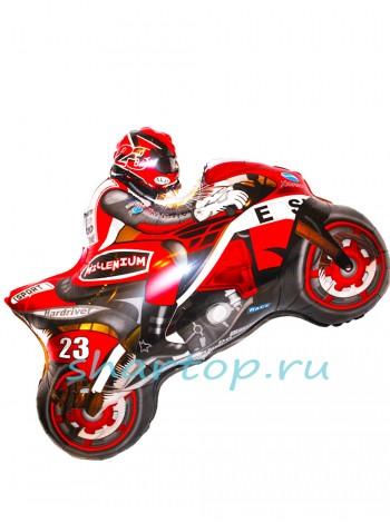 """Фольгированный шар """"Мотоцикл"""" 79 см"""