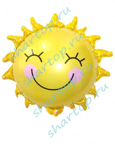 Фольгированный шар  Солнце 46 см