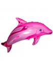 """Фольгированный шар с гелием """"Дельфин"""" 102 см"""