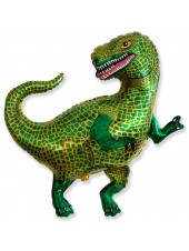 Шар Фигура Динозавр (Тиранозавр) 94 см Зеленый