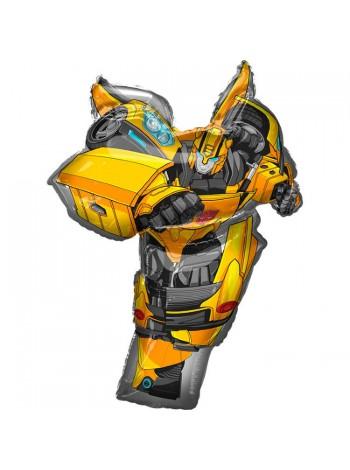 """Фольгированный шар """"Трансформер Бамблби"""" Bambl Bee 85 см"""