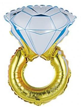 """Шар """"Кольцо с бриллиантом"""" 102 см."""