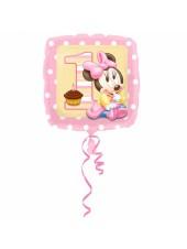 Шар Минни Малышка 1й День рождения
