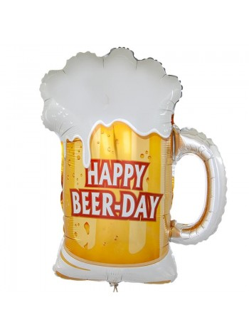 Шар Пиво в кружке 71 см