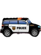 """Фольгированный шар с гелием """"Полицейская машина"""" 84 см"""