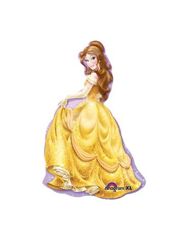 """Фольгированный шар с гелием принцесса """"Бэлль"""" 102 см"""