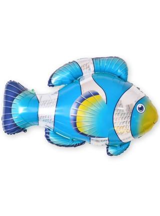 """Фольгированный шар с гелием """"Рыба Клоун"""" 89 см"""