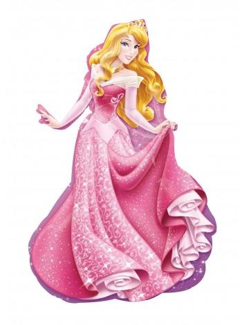 """Фольгированный шар с гелием принцесса """"Спящая красавица Аврора"""" 81 см"""