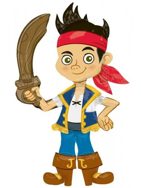 Ходячий шар Джейк Пират (США) с гелием