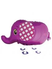 Ходячая фигура Слоник Розовый 71 см