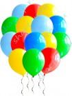 Ассорти 30 см шары с гелием