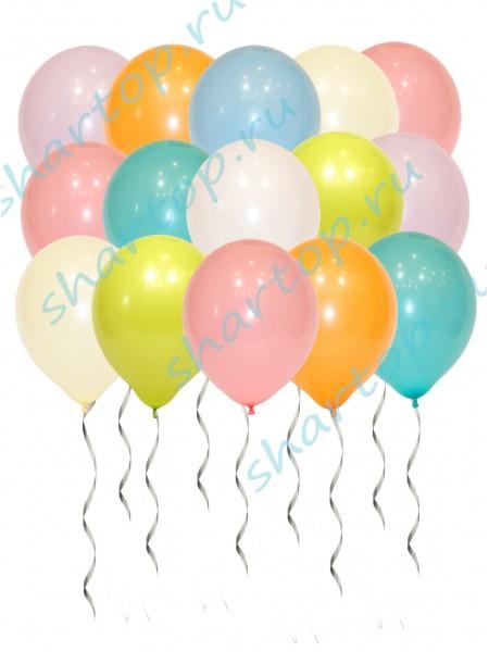 Ассорти Нежные шары 30см