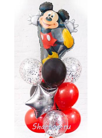 Композиция из шаров с Микки