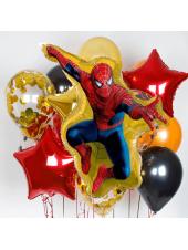 """Букет из шаров """"Человек Паук"""" Spiderman"""