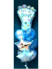 Набор шаров на рождение мальчика -2