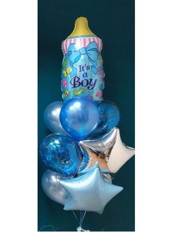 Набор шаров на рождение мальчика -3